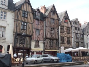 Old houses of Tours