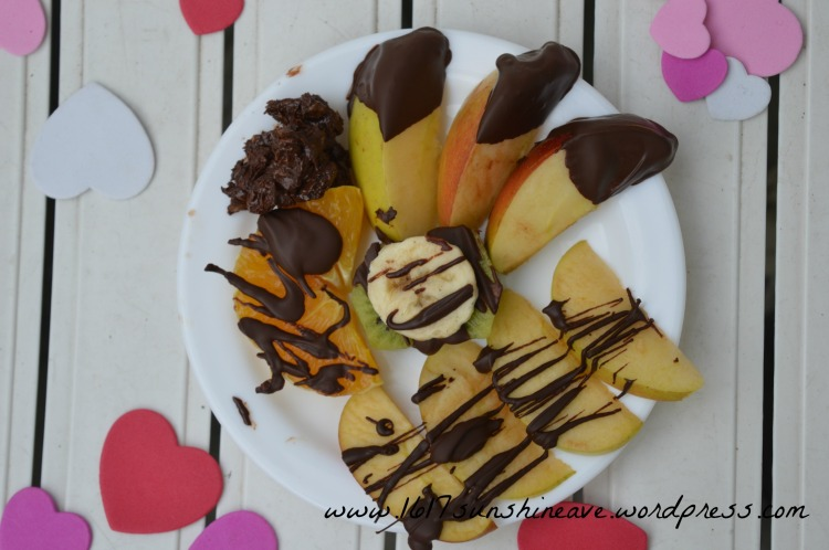 healthy valentine´s day treat