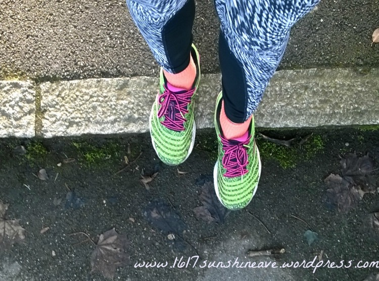 running shoes update stairs
