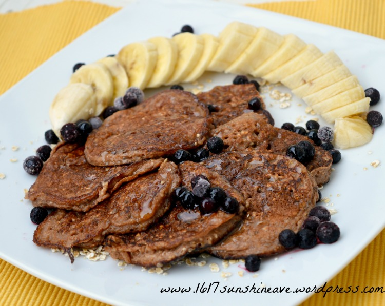 banana pancakes healthy recipe