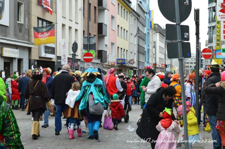 Cologne Carnival Colorful
