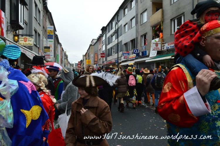 Colorful Cologne Carnival