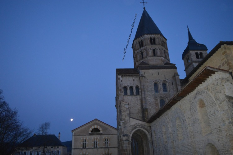 abbey of cluny france by night photography by 1617sunshineave