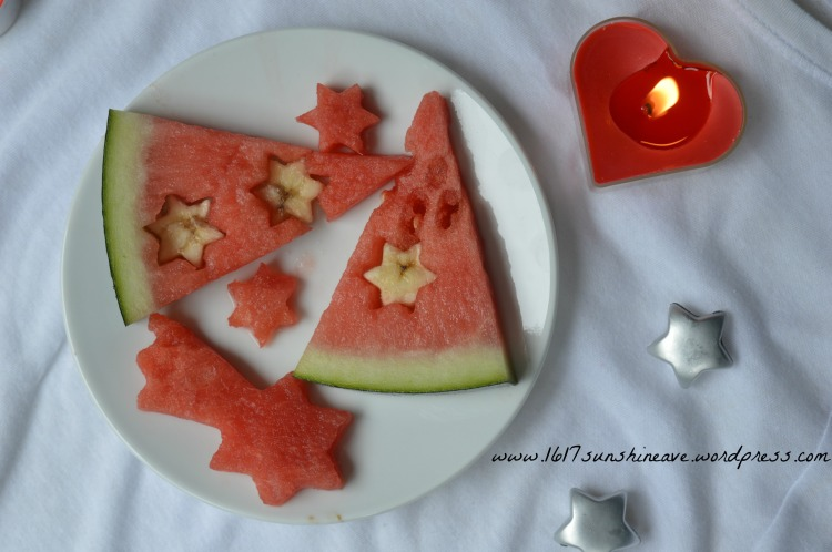 christmas snacks watermelon in july august party easy healthy