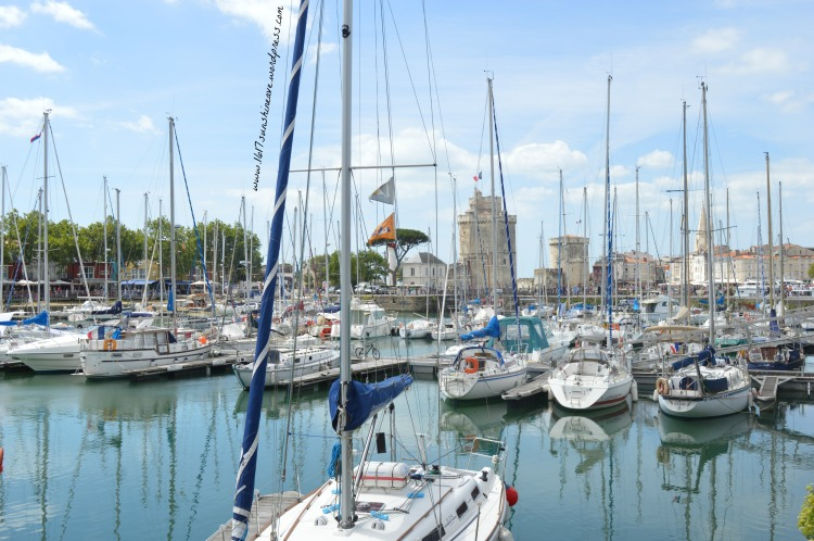 old harbour of la rochelle harbor ships yachts france photography