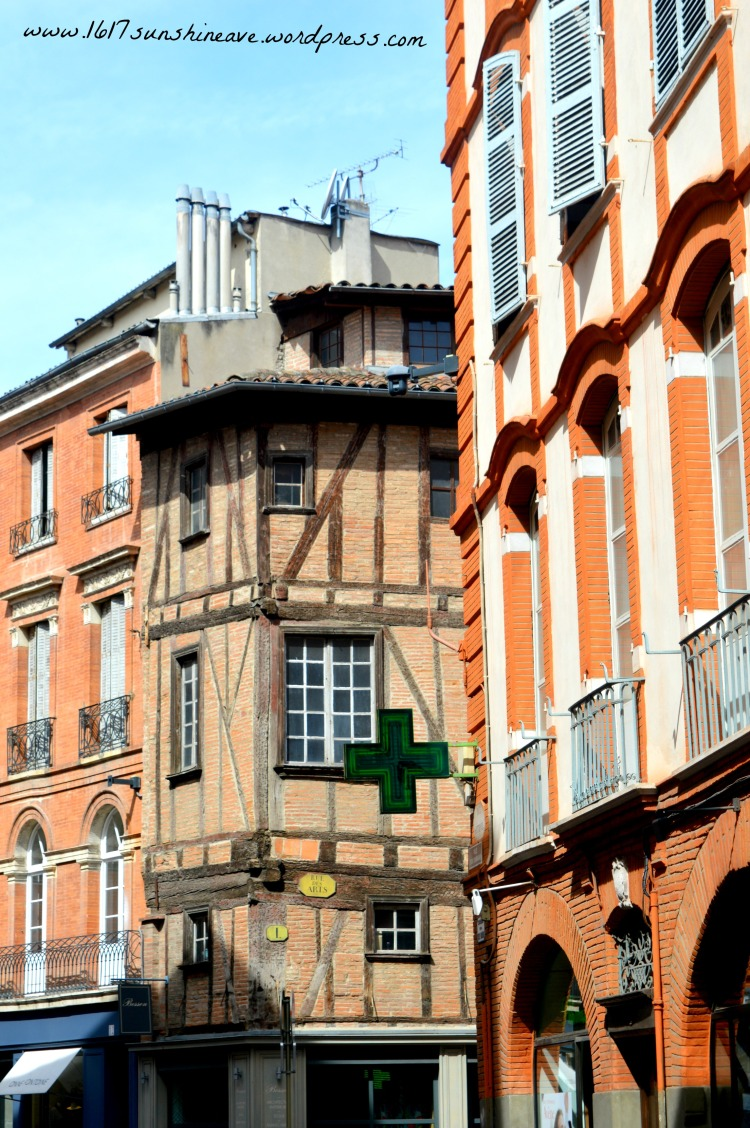 houses-in-toulouse-france