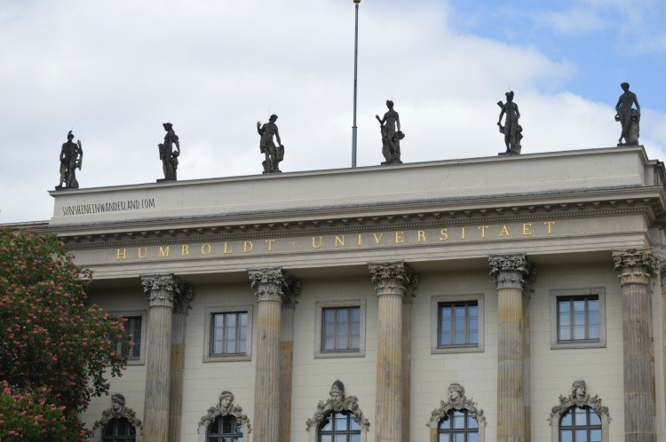 humboldt university main building berlin on a budget by bike historic facts