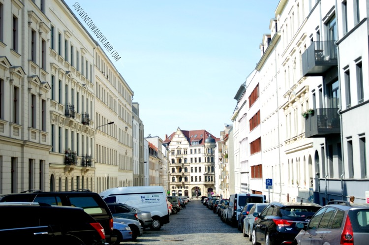 the streets of leipzig travel photography