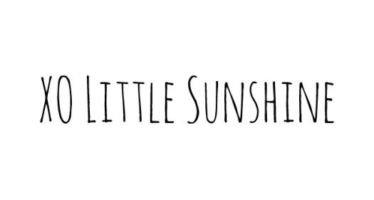 xo little sunshine
