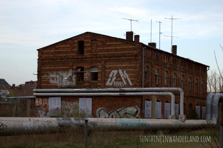 leipzig travel diary brick building hidden
