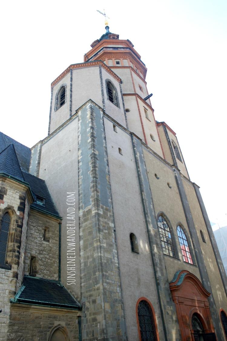 nikolai kirche leipzig travel diary sunshineinwanderland.com