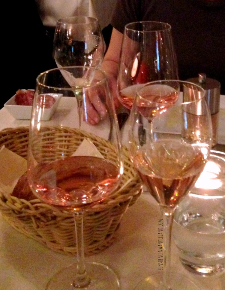 rosé champagner and rosé birthday thunderstorm dinner in leipzig germany travel diary