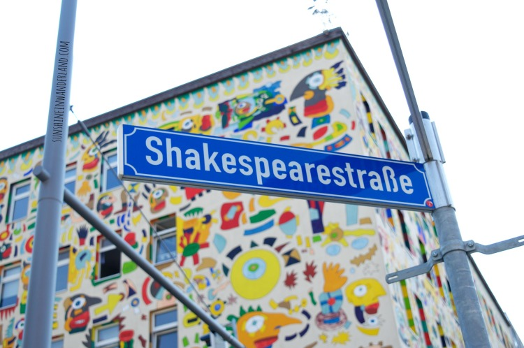 shakespeare straße travel street photography art leipzig germany