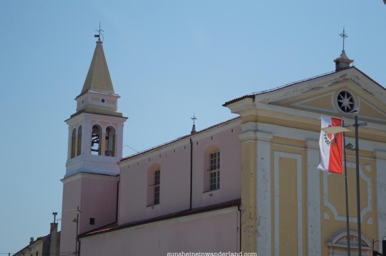 Church in Porec Croatia Istria
