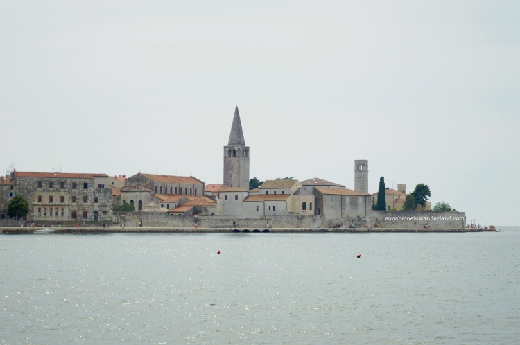 Porec and the sea